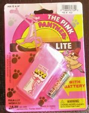 Vintage 1993 The Pink Panther Lite Battery Operated Flashlight New in Original