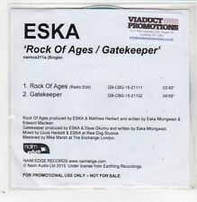 (GB771) Eska, Rock of Ages / Gatekeeper - 2015 DJ CD