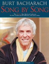 Burt Bacharach Song by Song Book - Omnibus Press - NEW 000336181