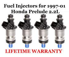 Four Fuel Injectors fits 1997-01 Honda  Prelude 2.2L