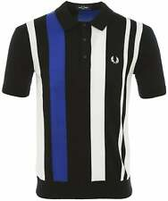 Fred Perry Bold Stripe Knitted Shirt K8527 608