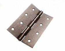 paquets de 6 Charnière Mégot porte portail acier brut 100mm 10.2cm plus vis