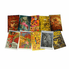 MARTIN SHARP Psychedelic poster/postcards UFO Michelangelo Van Gough Max Ernst