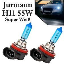 2x Jurmann H11 55W 12V hell Weiß Xenon Look Ersatz Scheinwerfer Halogen Lampe