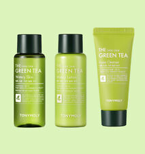 [Travel Sample] [TONYMOLY] The Chok Chok Green Tea - Skin, Lotion, Foam Cleanser