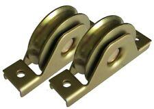 Sliding Gate Wheels, Set of 2 x 90mm U Groove Bearing Rollers * 3 YEAR WARRANTY*