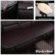 1Pcs PU Leather Car Back Seat Cover Cushion Four Season Car Interior Accessories