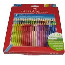 Faber-Castell 112449 - Buntstift Colour Grip 48er Stück Kartonetui