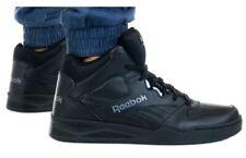 New REEBOK Classic Retro Mens hi top athletic sneaker casual black all sizes