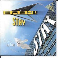 CD SINGLE 5 TITRES--SASH FEAT. LA TREC--STAY--1997