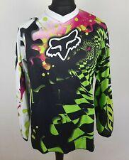 FOX Racing Motocross Long Sleeve Jersey Men's Size S MX BMX FOX HC Bike Shirt