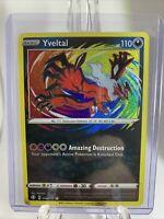 YVELTAL AMAZING RARE HOLO SHINING FATES POKEMON CARD NM 046/072 PACK FRESH NEW