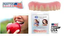 Cosmetic Upper Teeth Snap On Secure Instant Smile Veneers Dental Cover One Size