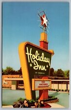 Postcard Amarillo TX c1960s Holiday Inn No.1 US Highway 60 & 66 Route 66 Advert