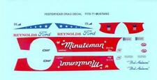 Yesteryear The Minuteman Mustang P/S drag decal