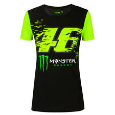 OFFICIAL VR46 VALENTINO ROSSI MONSTER ENERGY MONZA LADIES BLACK T SHIRT