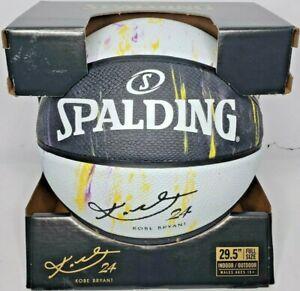 Spalding Kobe Bryant Marbled Snake Black/White LIMITED EDITION Basketball 29.5''