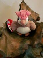 "PIDGEOTTO Pokemon Plush #17 7"" Hasbro 2000 W Toosh Tag & Hang Tag NEW OLD STOCK"