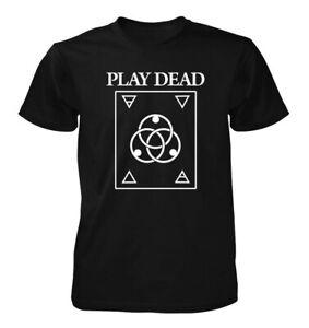 Play Dead (logo V.1) New T-SHIRT : Post punk goth band, killing joke,