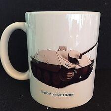 """HETZER"" German AFV - Coffee / Tea Mug; WW2 Germany-Photo taken in 1980"