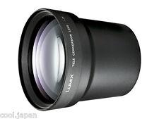 PANASONIC DMW-LT55 Official Converter Lens for FZ200 FZ30 FZ50 FZ8 Japan NEW