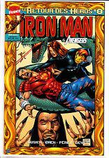 IRON MAN : LE RETOUR DES HEROS    : N°  8     MARVEL FRANCE