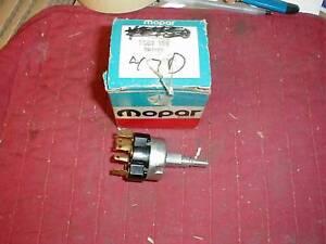 NOS MOPAR 1969-80 DODGE TRUCK 2 SPEED WIPER SWITCH