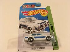 Hot Wheels Diecast 1970 Ford Escort RS1600 Rally White Diecast 1:64