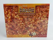 "Aquarius Bacon 1000pc Jigsaw Puzzle 20"" x 27"" Very Hard"