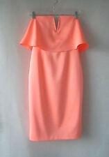 Womens One That I Want sz 8 Vibrant Summer Peach Dress