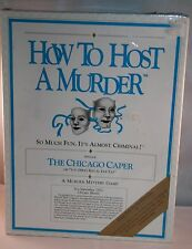 How To Host a Murder Episode The Chicago Caper You Dirty Rat Murder Mystery Game
