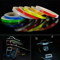 8M Night Riding Reflective Safety Tapes Sticker For Bicycle Bike Car Motorcycle