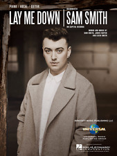"""SAM SMITH """"LAY ME DOWN"""" PIANO/VOCAL/GUITAR SHEET MUSIC-BRAND NEW ON SALE!!"""