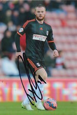 FULHAM HAND SIGNED RYAN TUNNICLIFFE 6X4 PHOTO 1.