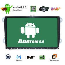 "Android 9.0 9"" Car GPS Radio Headunit Stereo For VW Jetta POLO GOLF Passat MK5"