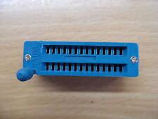 "28pin ZIF socket for DIL ICs Textool 0.3"" Zero Insertion Force narrow DIP"