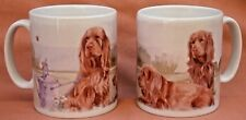SUSSEX SPANIEL DOG OFF TO THE DOG SHOW MUG SANDRA COEN ARTIST PAINTING PRINT