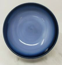 SANGO 782 INNOVATIONS SEAFOAM COUPE CEREAL BOWL 20 OZ BLUE GREEN WITH BLUE TRIM