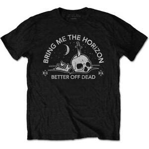 Bring Me The Horizon - Happy Song Men's Large T-Shirt - Black