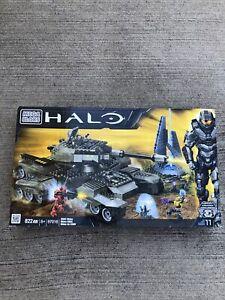 NEW SEALED! Retired Mega Bloks HALO 97016 UNSC RHINO Combat Battle Tank! RARE!