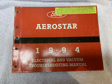 1994 Ford Aerostar - Oem Service (Shop) Manual Vacuum And Electrical. Used.