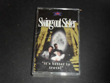 Swing Out Sister-It's Better To Travel-Audio Cassette Tape-Good Condition