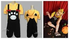 VOCALOID 2 LEN RIN Yellow and Black Cute Cosplay Costume Tops+Pants