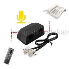 Dictaphone Telephone Recording Adapter Digital Voice Recorder + 3.5mm RJ11 Cable