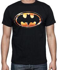 Batman 80's Movie Logo Dark Knight Superhero Eighties Costume Party T Shirt