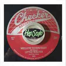 LITTLE WALTER RE 45- MELLOW DOWN EASY/LAST NIGHT- CLASSIC CHECKER 50s R&B LISTEN