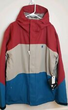 NWT Mens DC Ski Board Winter Jacket Coat Hooded EXOTEK SZ XL LAYERED PROTECTION