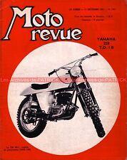 MOTO REVUE 1767 YAMAHA 250 TD1 B OSSA 230 MC Scrambler MORINI 150 TRIAL 1965