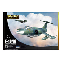Kinetic Models 1/48 Scale F-104G Luftwaffe Starfighter
