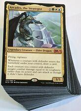 ***Custom Commander Deck*** Arcades the Strategist - Wall Tribal - Magic Cards